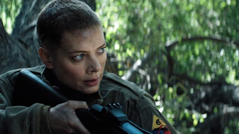 Nina Bergman as Marie DuJardin in Hell Hath No Fury.