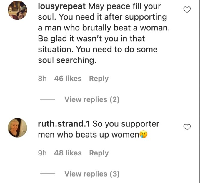 disgruntled fans ripped natalie on instagram