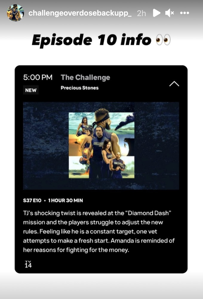 the challenge 37 episode 10 synopsis details
