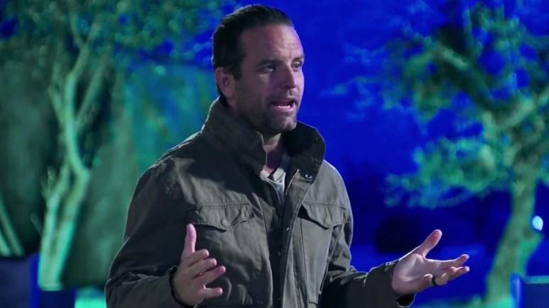 the challenge season 37 host tj lavin during episode 9 elimination
