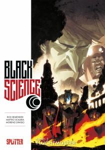 Black Science Band 3 Fluchtmuster von Rick Remender und Matteo Scalera