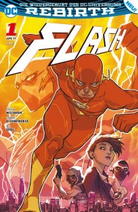 Flash Sonderband 1 Die Flash-Akademie von Joshua Williamson, Carmie Di Giandomenico und Neil Googe
