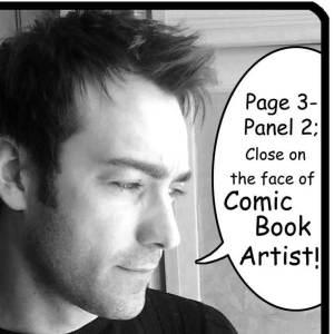 Comickünstler Emilio Laiso auf Signiertour in Deutschland