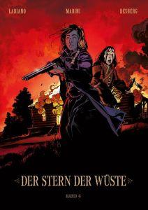 Der Stern der Wüste Band 4 von Stephen Desberg, Nadine Labiano und Enrico Marini Comickritik