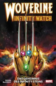 Wolverine Infinity Watch Das Geheimnis des Infinity Steins von Gerry Duggan und Andy MacDonald Comickritik