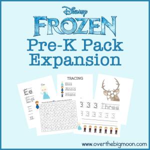 Friday Freebie Frozen Printables