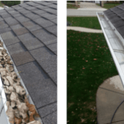 Residential Gutter Cleaning in New York City by Monster Wash