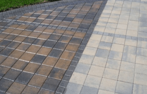 Residential Driveway Cleaning in New York City by Monster Wash