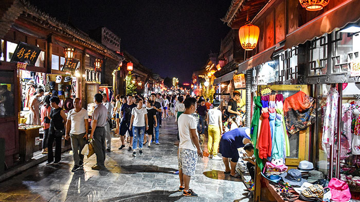 Que-ver-pingyao-noche