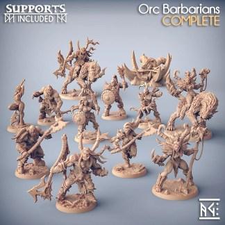 Orc Barbarians