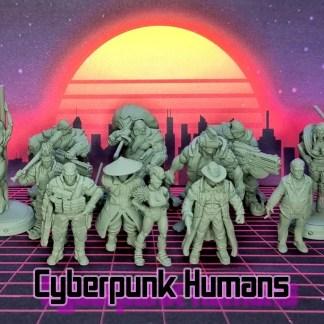 Cyberpunk Humans