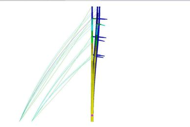 DEFORMATION STUDY BY PLS POLES SOFTWARE– TELECOMMUNICATION POLE