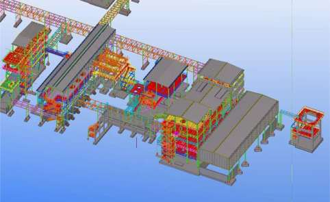 STRUCTURE MODELLED BY TEKLA SOFTWARE – Jacobs-Scarlino commission