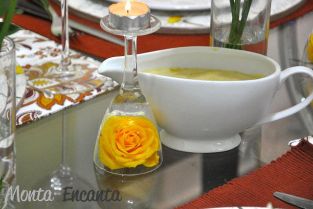 Salada Ceaser monta encanta fabby mello07