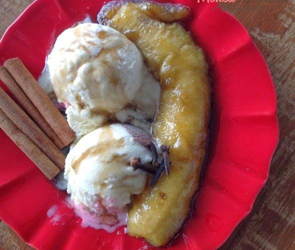 Banana Flambada – Só pra mim…