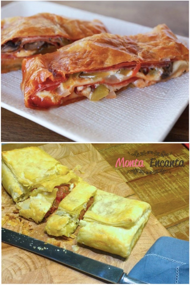 Pizza de Massa Folhada Fechada