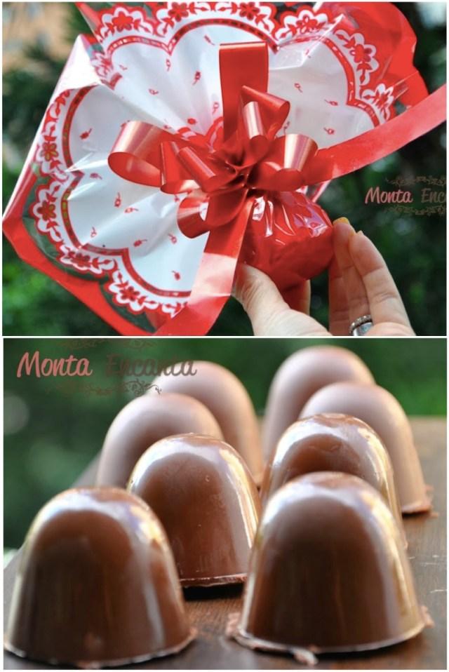 Como embalar  trufas de chocolate?