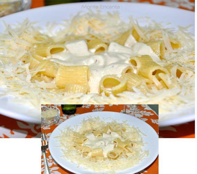 Massa com Gorgonzola, Limão e Sálvia