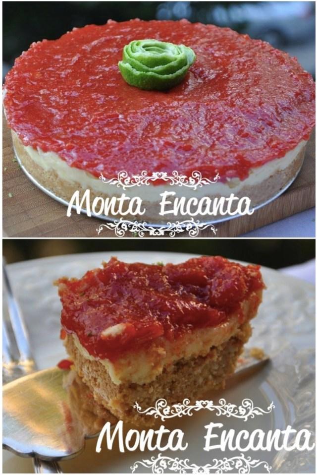 Torta de Brigadeiro de Cheesecake