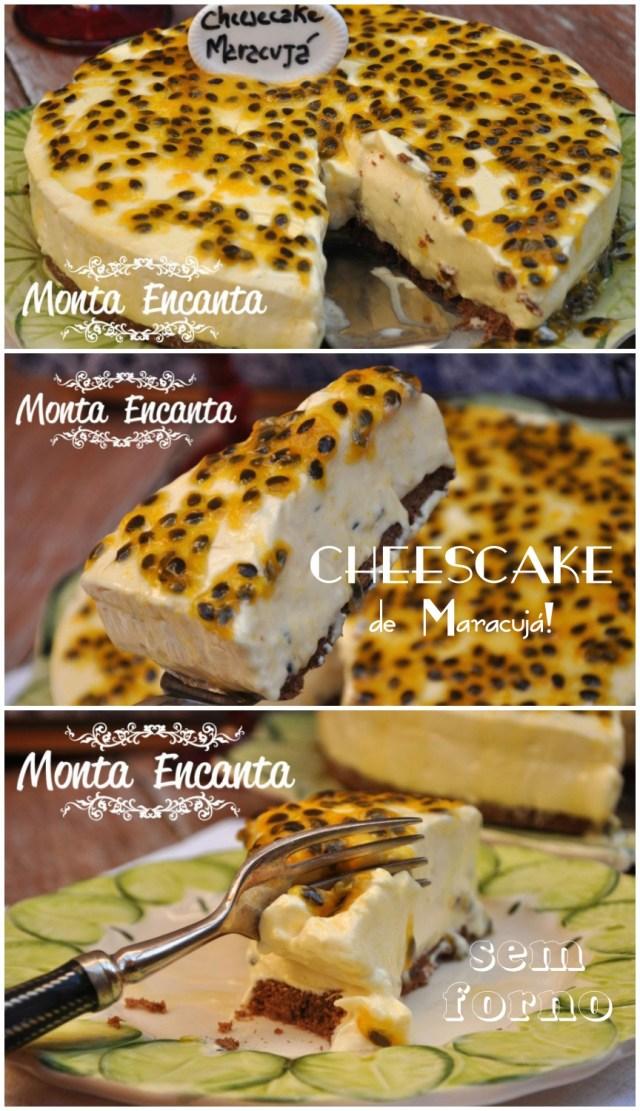 cheesecake de maracuja sem forno