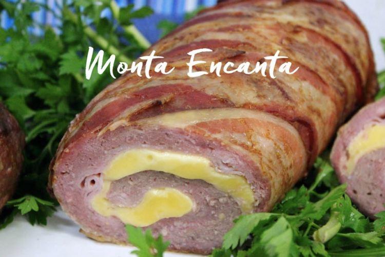 Rocambole de Carne e Linguiça fresca