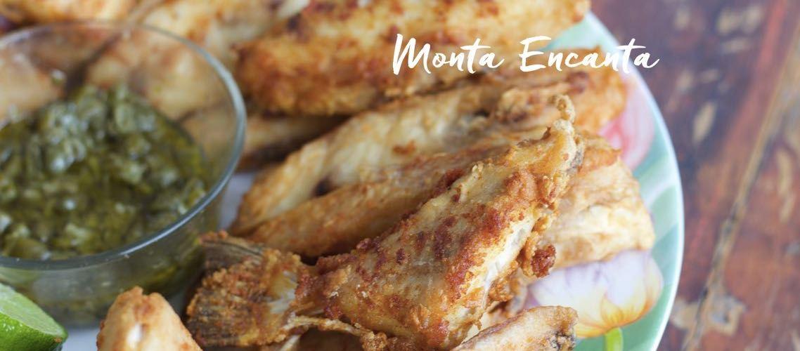 Peixe Porquinho com Alcaparras, peixe frito delicioso!