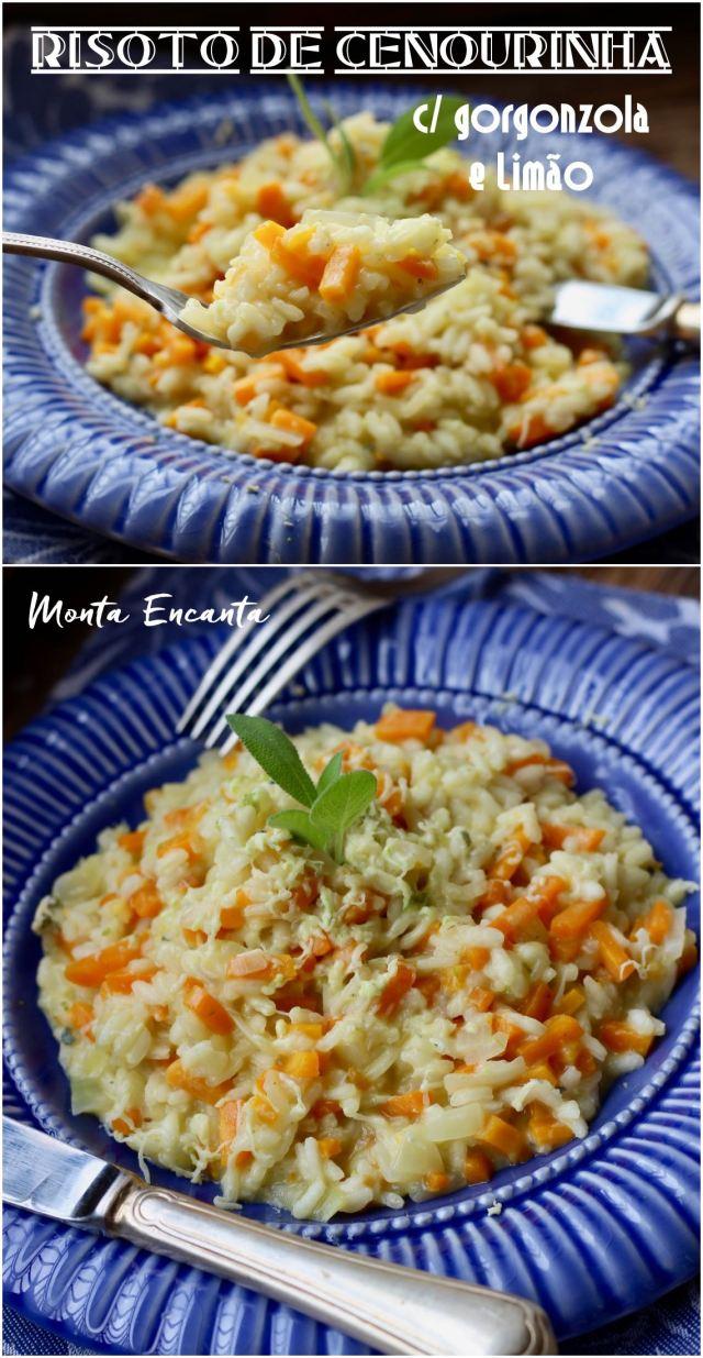 risoto de cenourinha