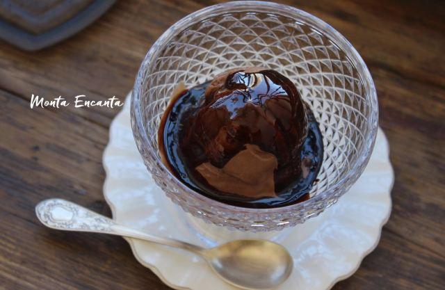 sorvete de chocolate com café