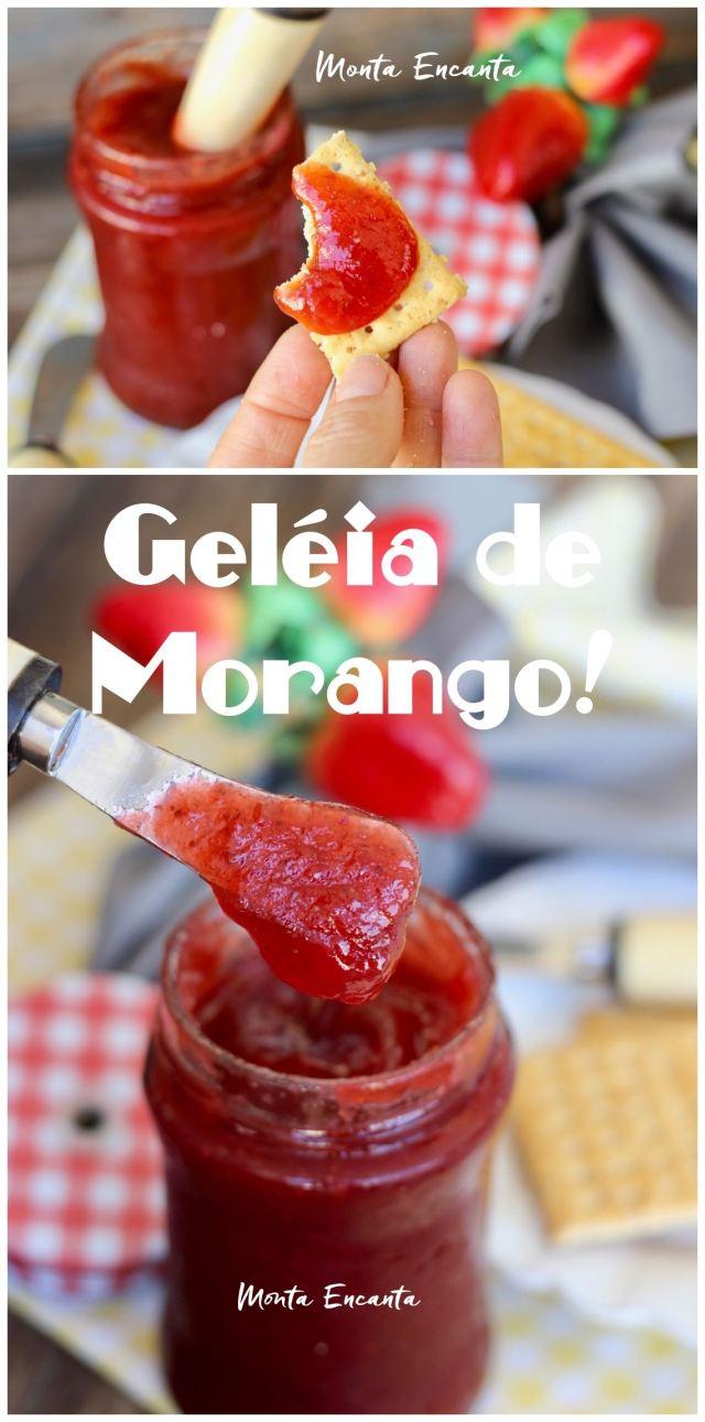 geléia de morango