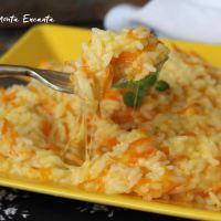 Arroz com queijo e cenoura é sucesso garantido!