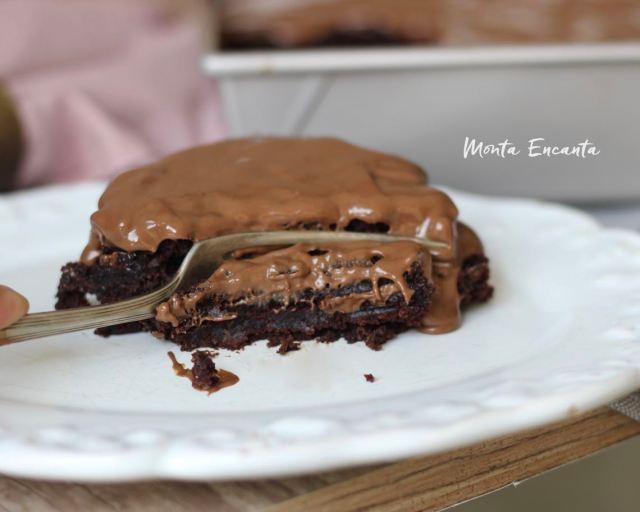 bolo de chocolate com abobrinha