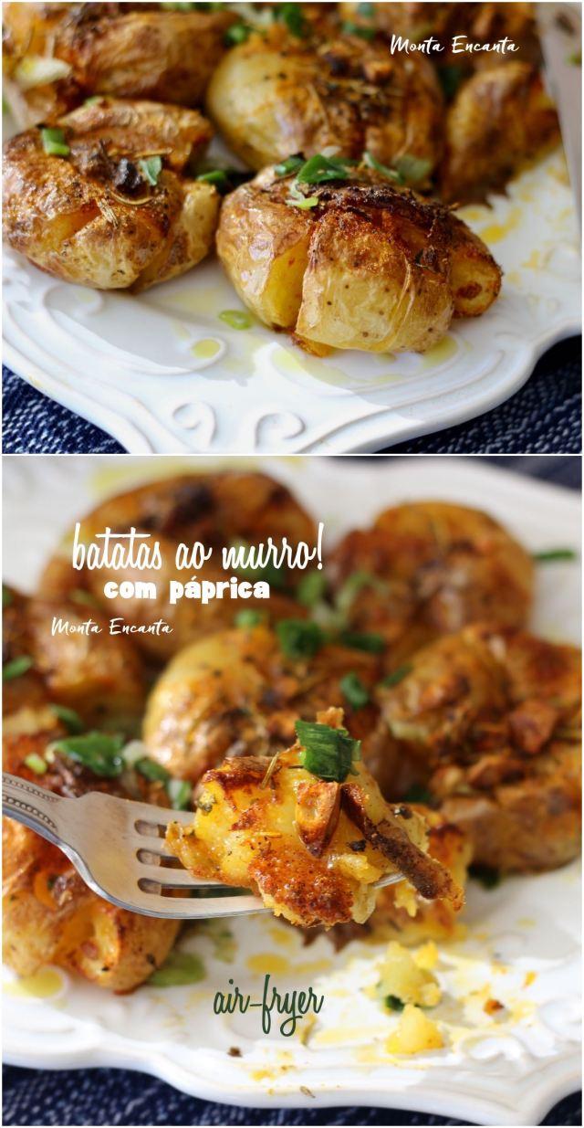 batatas ao murro original com páprica na air-fryer
