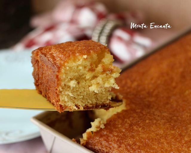 bolo de laranja com maisena fica ainda mais fofinho