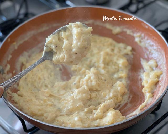 molho branco sem gluten com amido de milho maisena