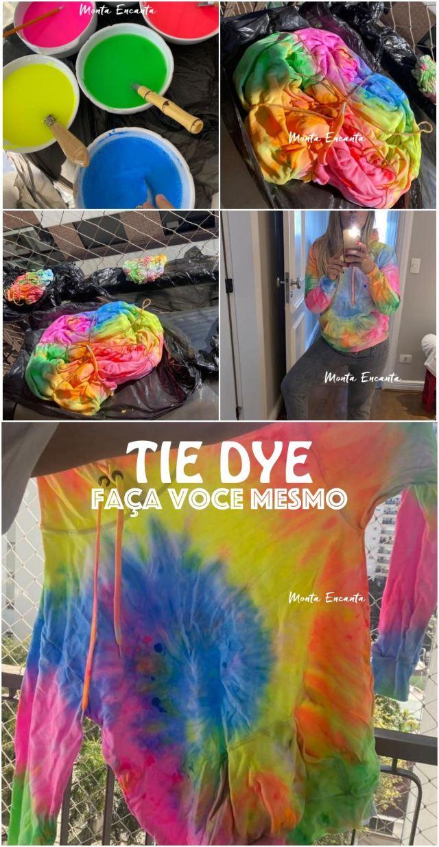 tie dye, faça você mesmo