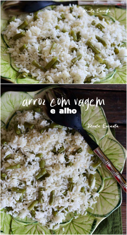 arroz com vagem