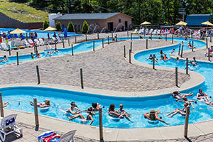 Montage Mountain Waterpark Wave Pool Lazy River
