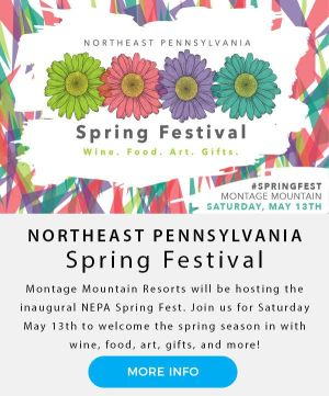 Northeast Pennsylvania Spring Festival | Wine Food Art Gifts | Montage Mountain