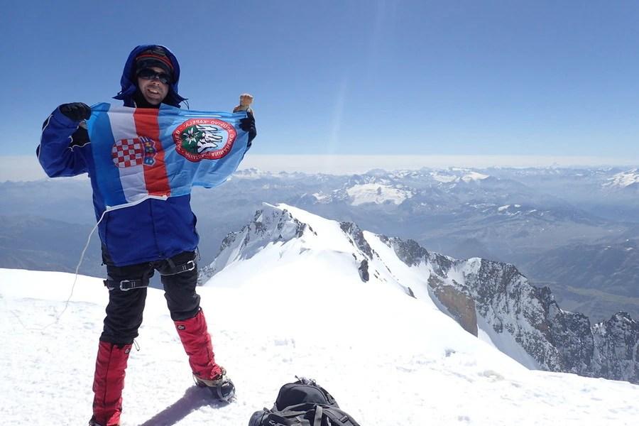 Monte Bianco, alpinismo, Matej Perkov, trail