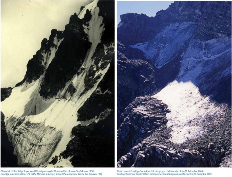ghiacciai, smiraglia, cambiamenti climatici