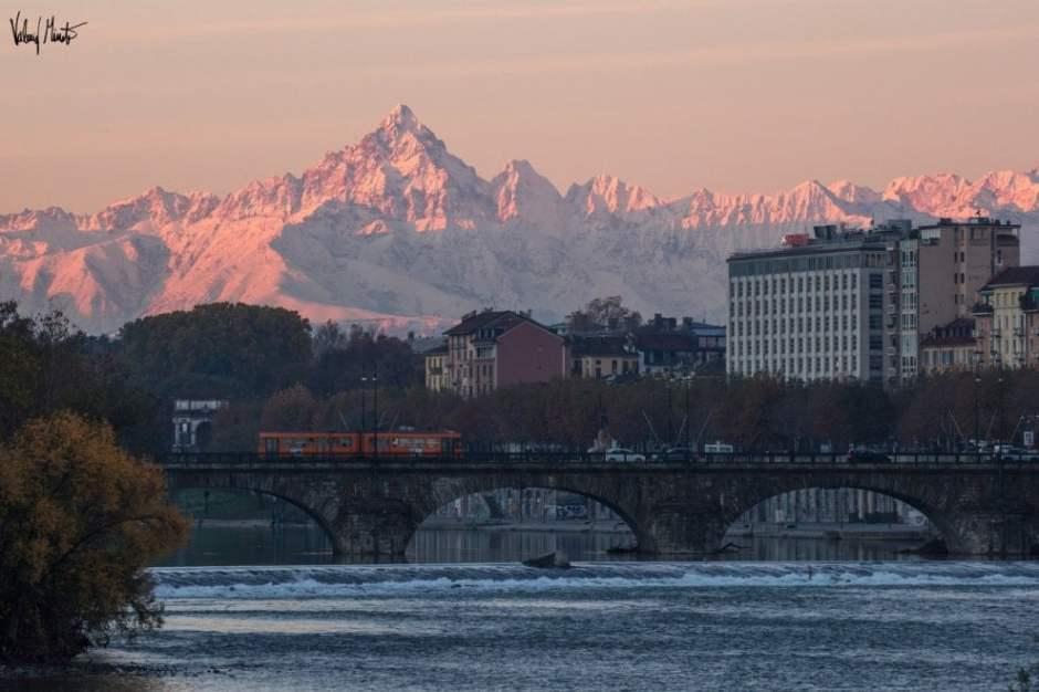 Monviso, Piemonte, Alpi, alba, fotografia, Valerio Minato