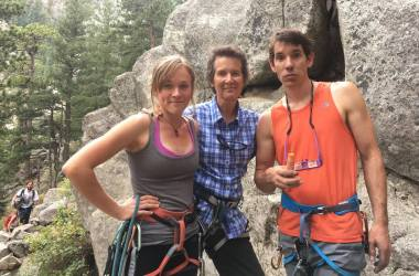 Dierdre Wolownick, Alex Honnold, climber, El Cap, Yosemite Free Solo