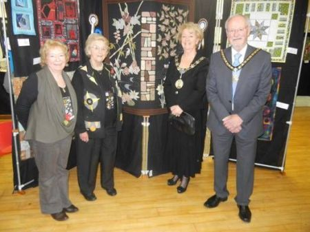 Montague Presidents with Trafford Mayor and Consort