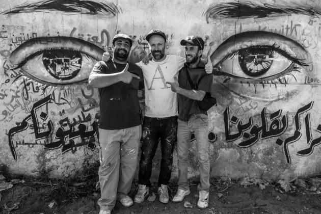 Herakut Eyes Of Gaza-14
