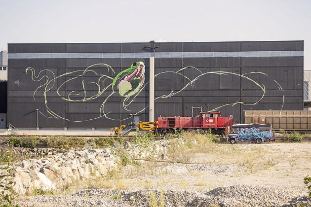 Nychos - Transparent Snake Linz 2016-02