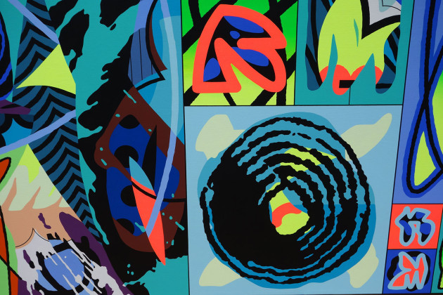 Sobekcis first solo show in the US-12