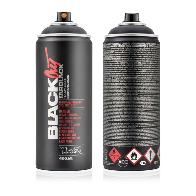 Montana BLACKOUT Tarbblack 400ml, high-pressure