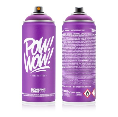 MONTANA-CANS X POW! WOW! HAWAII 2016