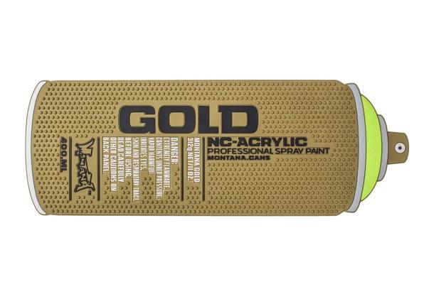 Montana Counter Mat - GOLD Can 44x15cm