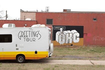 GREETINGS TOUR OKLAHOMA CITY